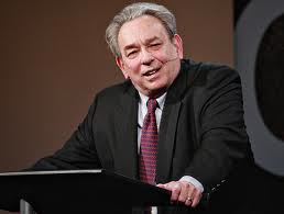 RC Sproul teaching in red tie image