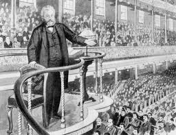 Spurgeon in pulpit image