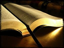 Bible opened image