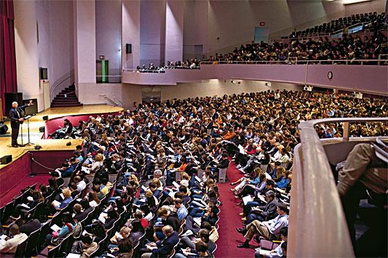 Tim Keller preaching image