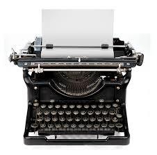 old typewriter image