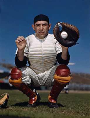 Yogi Berra Catching