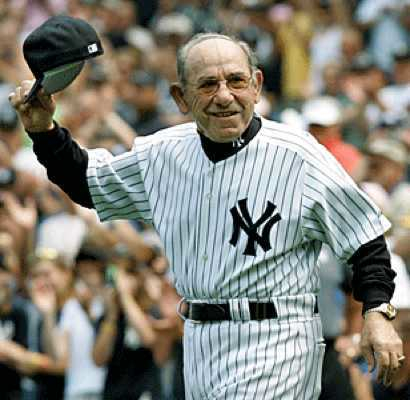 Yogi Berra saying bye