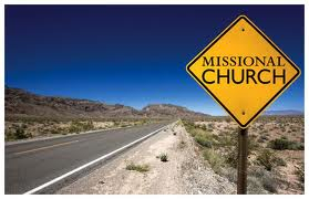 Missional church sign in the desert