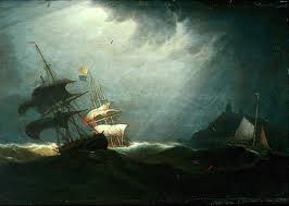 Robert Salmon Storm at Sea