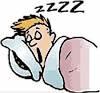 CARTOON CHARACTER SLEEPING
