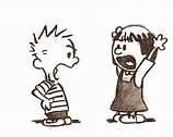 Calvin arguing